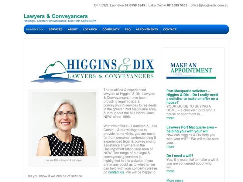 higgins & dix 1